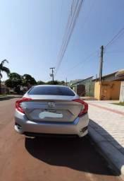 Honda Civic 2017 com 37 mil km rodados em excelente estado de conservação - 2017