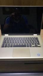 Barbada notebook Dell i7 2 em 1 top