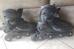 Patins Roller Oxelo Active Fit 3 Preto
