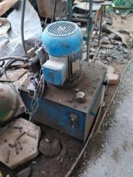 Bomba hidráulica prensa 16 tons unidade hidráulica 40 litros