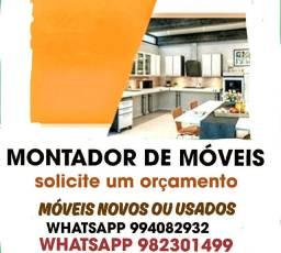 MONTADOR DE MÓVEIS NOVOS E USADOS