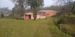 Pequeno sítio, 1.5ha, casa, pavilhão, frutíferas, açude, frente asfalto