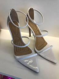 Sandália feminina Karmelia Branca