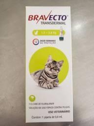 Bravecto gatos de 1,2 a 2,8kg