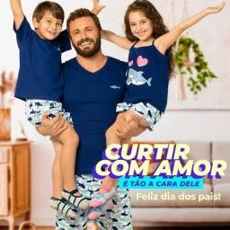 Pijamas Família Goldinhos