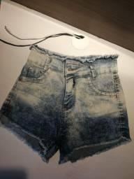 Shorts jeans cos alto TAM 38