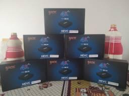 """Tv box mx9 """"8 DE RAM E 128  ARMAZENAMENTO"""" 12x SEM JUROS"""