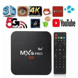 Tv Box Mxq 4K Ultra 5G 4Gb Ram 64Gb Armazenamento