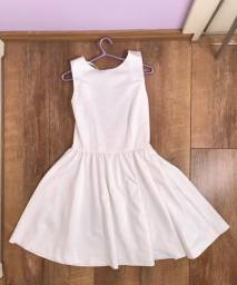 Vestido branco Zara festa