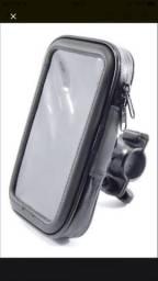 Suporte de celular para moto