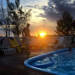 Casa com piscina em Atlântida Sul!