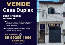 Casa Duplex Próximo a Av. Major Assis com 191,05m² Imperdível!