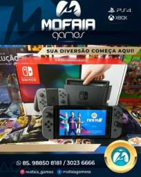 Nintendo switch semi novo com garantia
