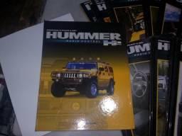 Obra impressa da coleção Hummer H2 planeta DeAgostini