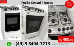 Fogão Consul 4 Bocas - Ótimo Estado!!!