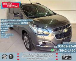 Cinza Chevrolet Spin 1.8 Advantage 8v Flex 4p automático 2015 R$28.210 - 2015
