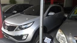 Kia Sportage EX 2.0, automática, teto solar,gnv, 2011, Muito nova, aceito troca e financio - 2011