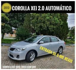 COROLLA XEI MODELO 2013 GNV