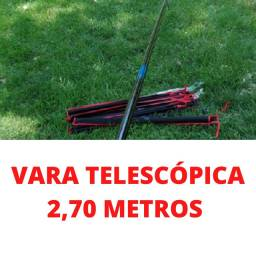 Vara telescópica nova