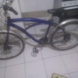 Bike freio a disco rodas grossa