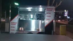 Food Truck Treiler comercial hamburgueria