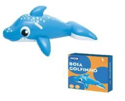 Boia Inflável Golfinho Para Piscina Azul - Mor 1810