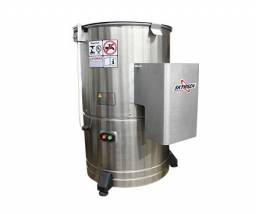 Descascador de batatas 10kg inox skymsen DB-10 (novo) Alecs