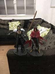 Action Figures Final Fantasy VII (Sephiroth e Vicent Valentine)