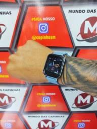 Relógio smartwatch F25 pro azul