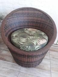 Jogo de sofá Ostrinha em fibra sintética