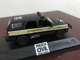 Miniatura customizada Blazer Polícia Civil MG