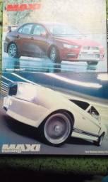 Posters automotivo da revista Fullpower e Maxi Tuning