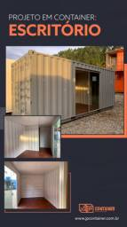 Escritório Container Dry 20 pes (15m²) Completo