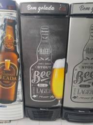 Cervejeira 450 litros porta cega Gelopar com 2 anos de garantia * cesar