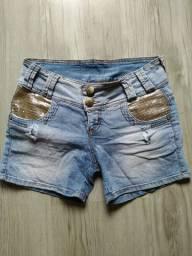 Shorts feminino número 38