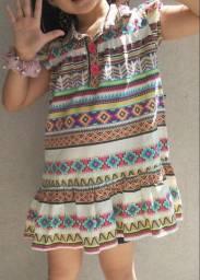 Vestido lilica ripilica pouco uso