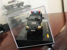 Miniatura blazer customizada Polícia Civil MG