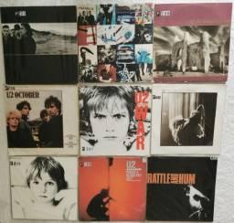 Coleção Particular De Vinil E Cd´s U2 - 9 Lp´s + 10 Cd´s