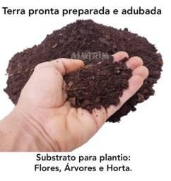 Terra preparada e adubada
