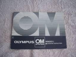 Título do anúncio: Manual original Rebobinador Olympus Winder 1 linha OM
