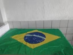 Bandeira do Brasil poliéster novas grande