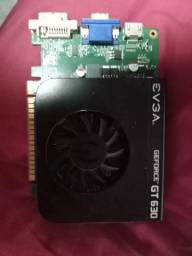 Placa de video gt 630 2g ddr3 para retirada de peças