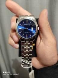 Relógio masculino Kingnuos luxo casual novo
