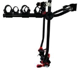 Suporte Transbike Para 3 Bicicletas Porta Malas - 6 Fitas