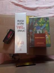Boticário e Natura. Kit com 2 Perfumes. Portinari. Meu Primeiro Humor. Batom.!!!!