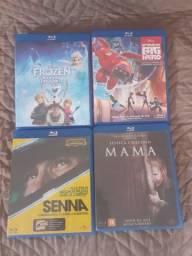 Filmes em blu-ray e dvd