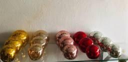 Esfera e garrafinhas decoração espelhadas