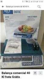 Balança comercial 40 kilo frete Grátis