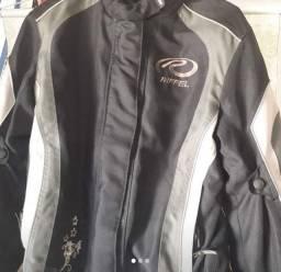 Jaqueta femenina Motoqueira com Proteção