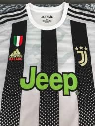Camisa Juventus x Palace x Cristiano Ronaldo 7 x GG